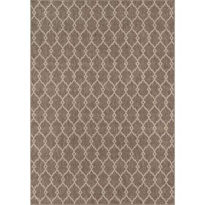 Baja Taupe 9 ft. x 13 ft. Indoor/Outdoor Area Rug
