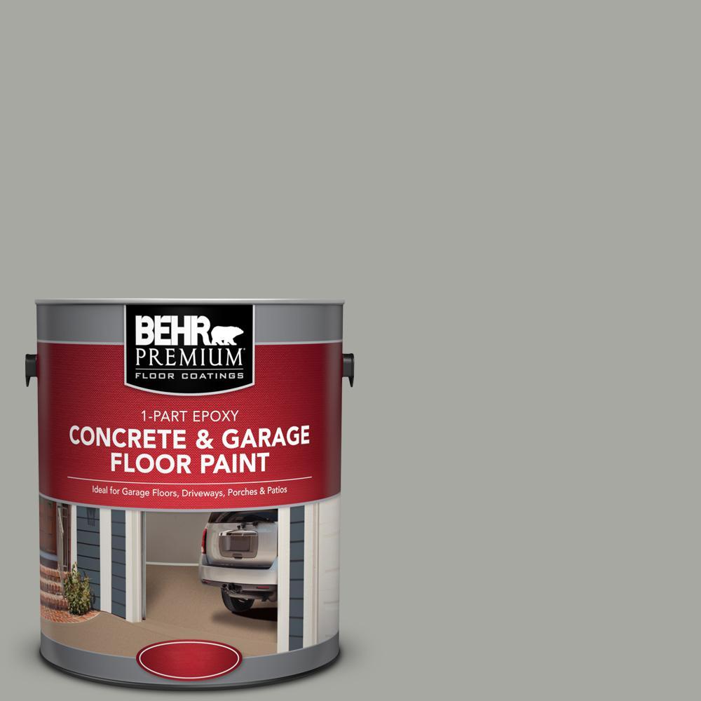 Pfc 68 Silver Gray 1 Part Epoxy Satin Interior Exterior Concrete And Garage Floor Paint