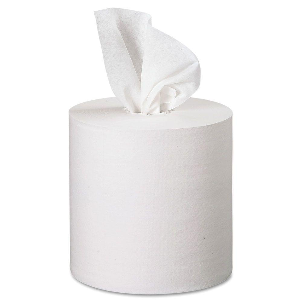 Premiere White Center-Pull Towels (Case of 4)