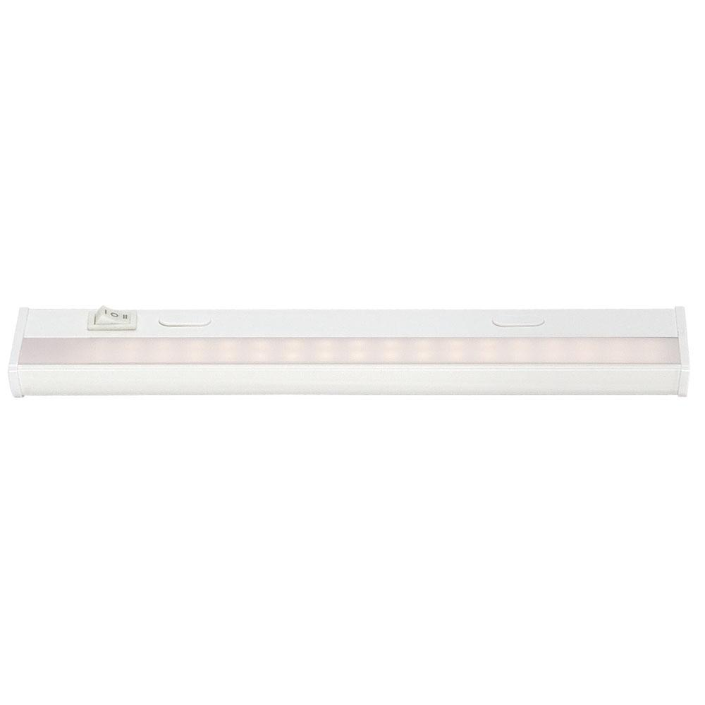 Acclaim Lighting The Do-It-Yourself 12 in. White LED ...