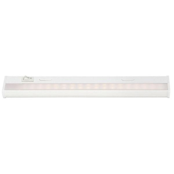 The Do-It-Yourself 12 in. White LED Undercabinet Light