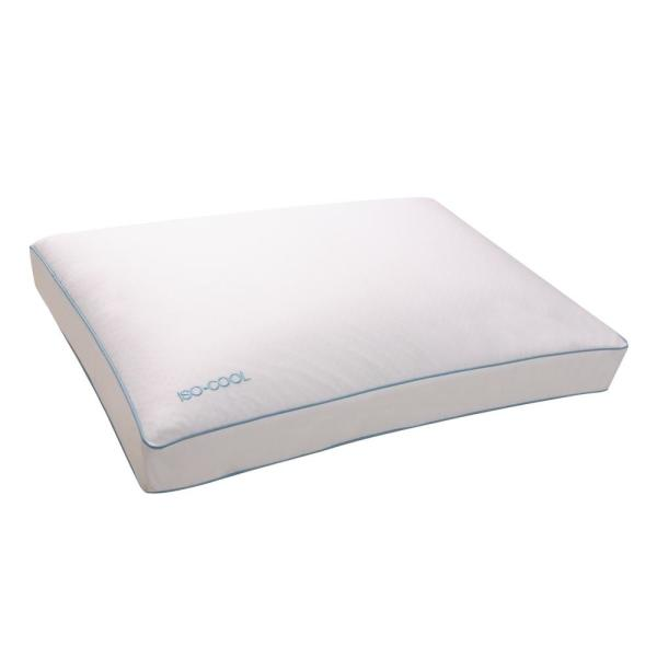 Isotonic Memory Foam Side Sleeper Pillow 031374521471 The Home Depot