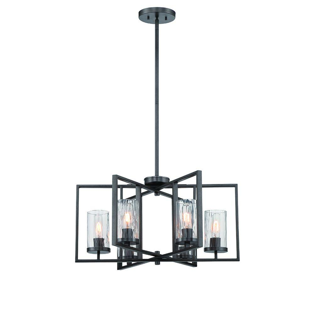 Designers fountain elements 6 light charcoal interior incandescent designers fountain elements 6 light charcoal interior incandescent chandelier 86586 cha the home depot aloadofball Choice Image