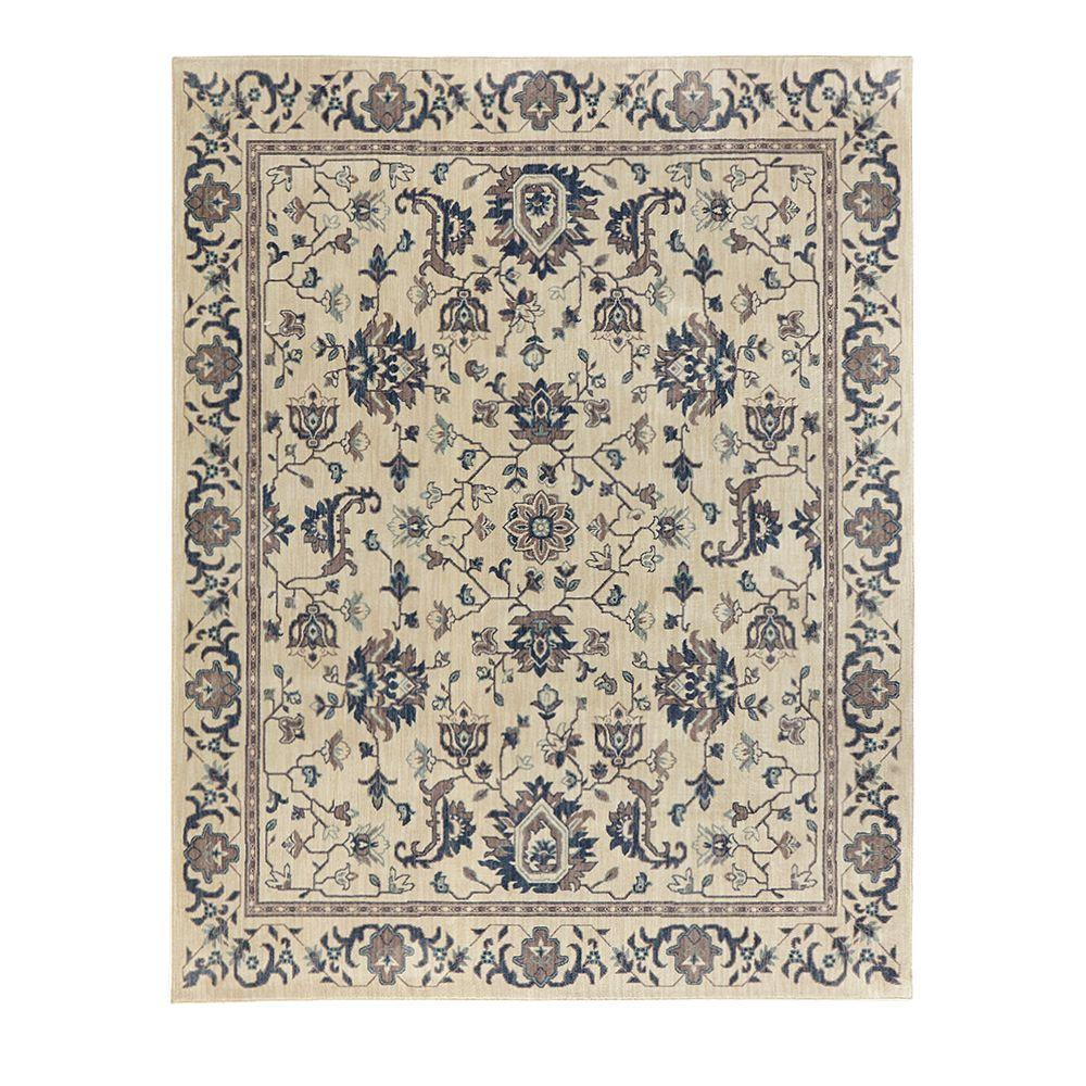 Home decorators collection jackson blue ivory 4 ft x 6 ft for Home decorators rugs blue