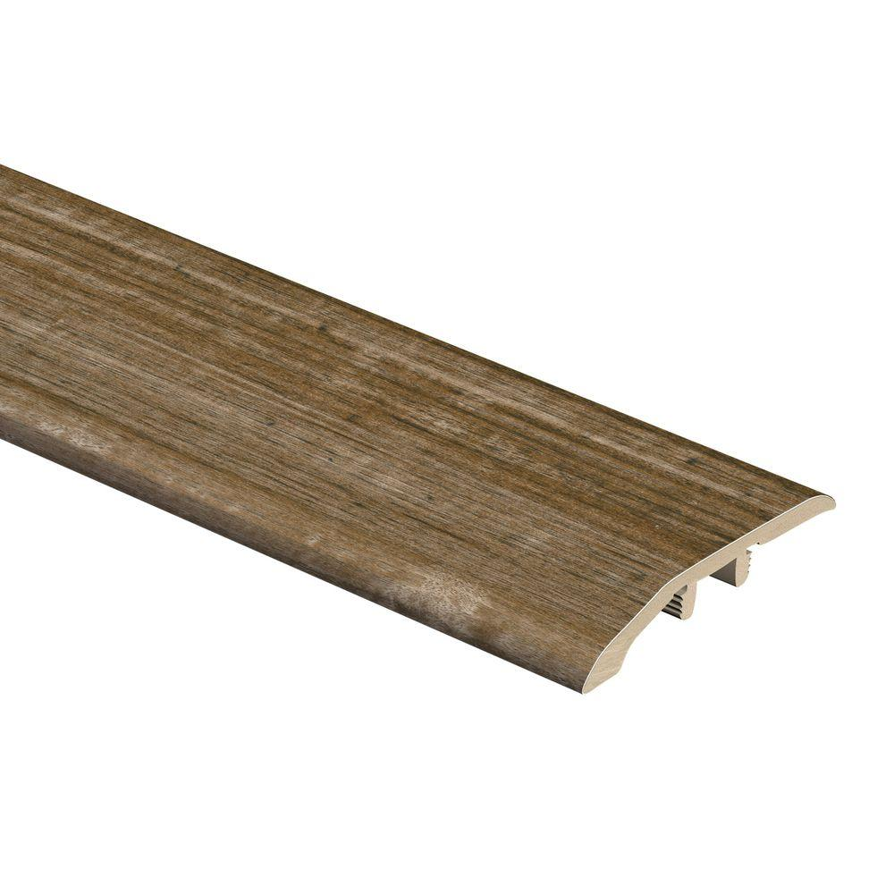 Zamma Spotted Gum Rustic 5/16 in. Thick x 1-3/4 in. Wide x 72 in. Length Vinyl Multi Purpose Reducer Molding