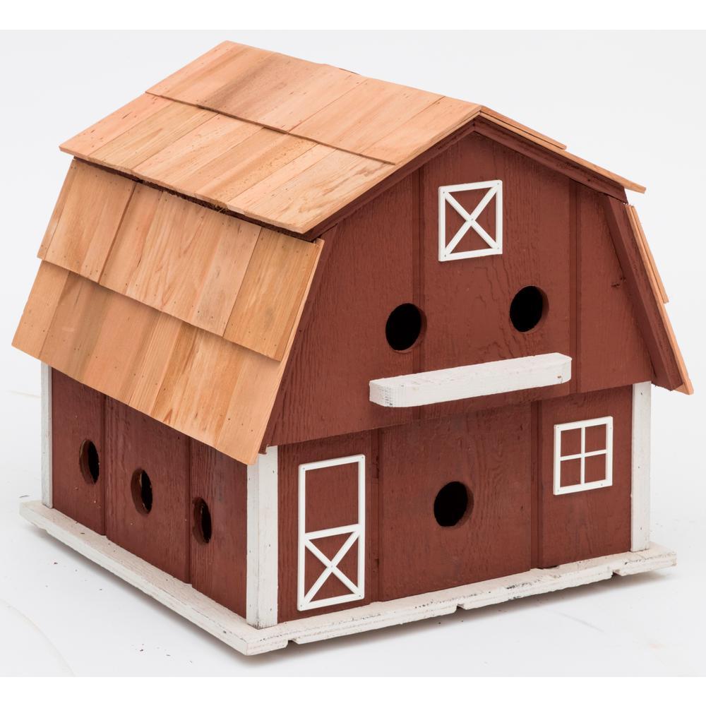 Lancaster County Barn Purple For Martin House-HBA-1011