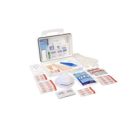 166-Piece 25 Person OSHA/ANSI Poly First Aid Kit