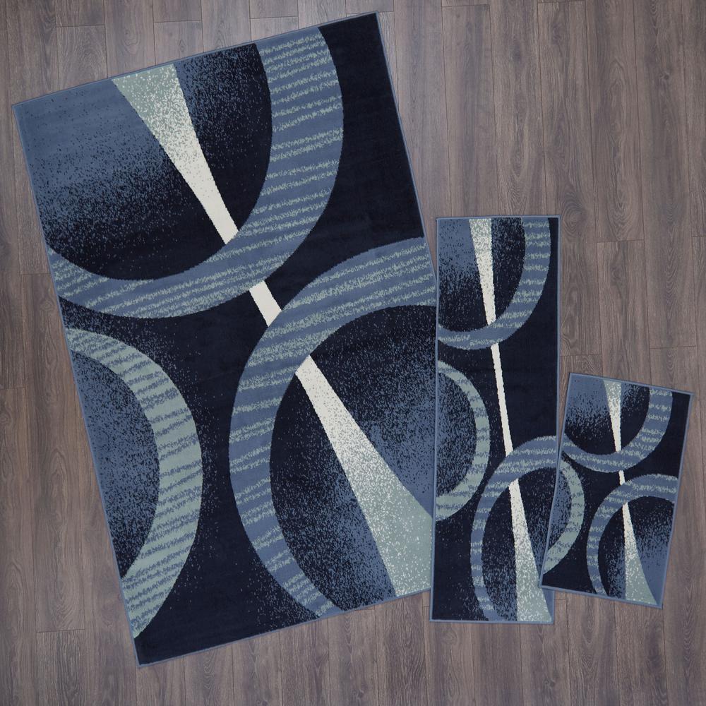 411 x611,18 x411,18 x28 Home Dynamix Ariana Hyatt Area Rug 3 Piece Set Trellis Ebony