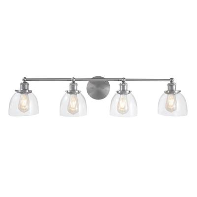 Evelyn 4-Light Brushed Nickel Vanity Light