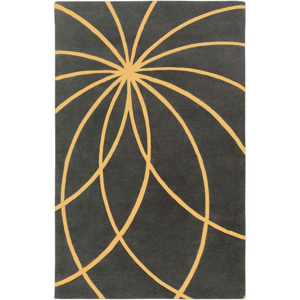 Artistic Weavers Aisha Old Gold 4 ft. x 6 ft. Area Rug
