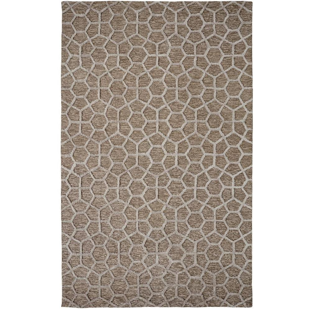 null Broadway Silver 8 ft. x 11 ft. Indoor Area Rug