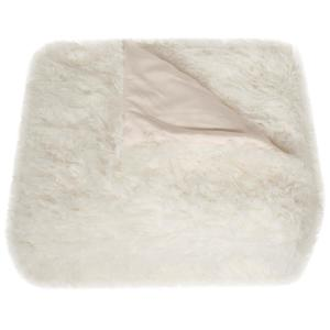 Cuddle Snow 60 in. x 72 in. White Throw