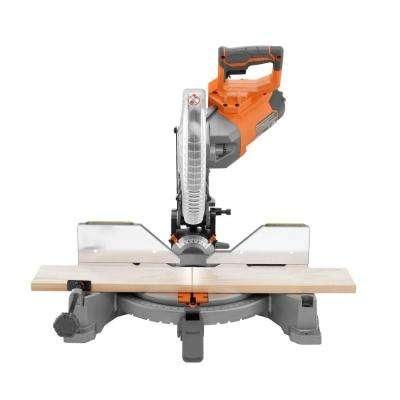 10 in. Dual Bevel Miter Saw with LED