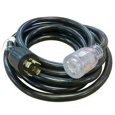 40 ft  30-Amp Generator Power Cord