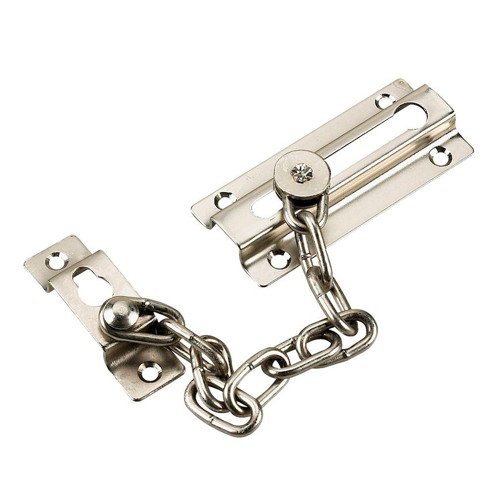 Richelieu Hardware Satin Nickel Chain Door Guard