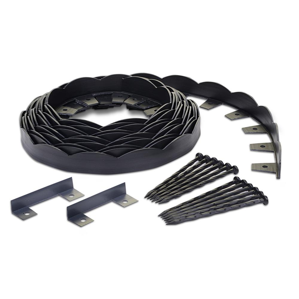 ProFlex No-Dig 40 ft. Scallop Top Edging Kit