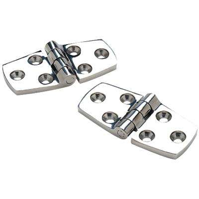 Door Hinges in Stainless Steel - Pair