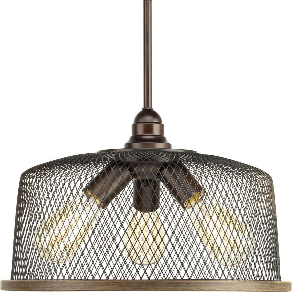 Tilley Collection 3-Light Antique Bronze Pendant