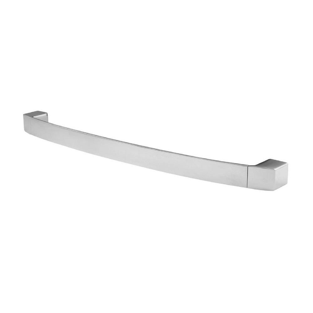 Pfister Kenzo 24 in. Towel Bar in Polished Chrome Modern-inspired lavatory faucets with sleek architecture, simplistic lines and a beautiful water-efficient waterfall trough design. A delight for residential and hospitality projects alike. The design of Kenzo collection gives it the versatility to fit in any contemporary bathroom setting making it the perfect choice for any sized project big or small. The Polished Chrome is perfect for coordinating in a bathroom with polished chrome fixtures.