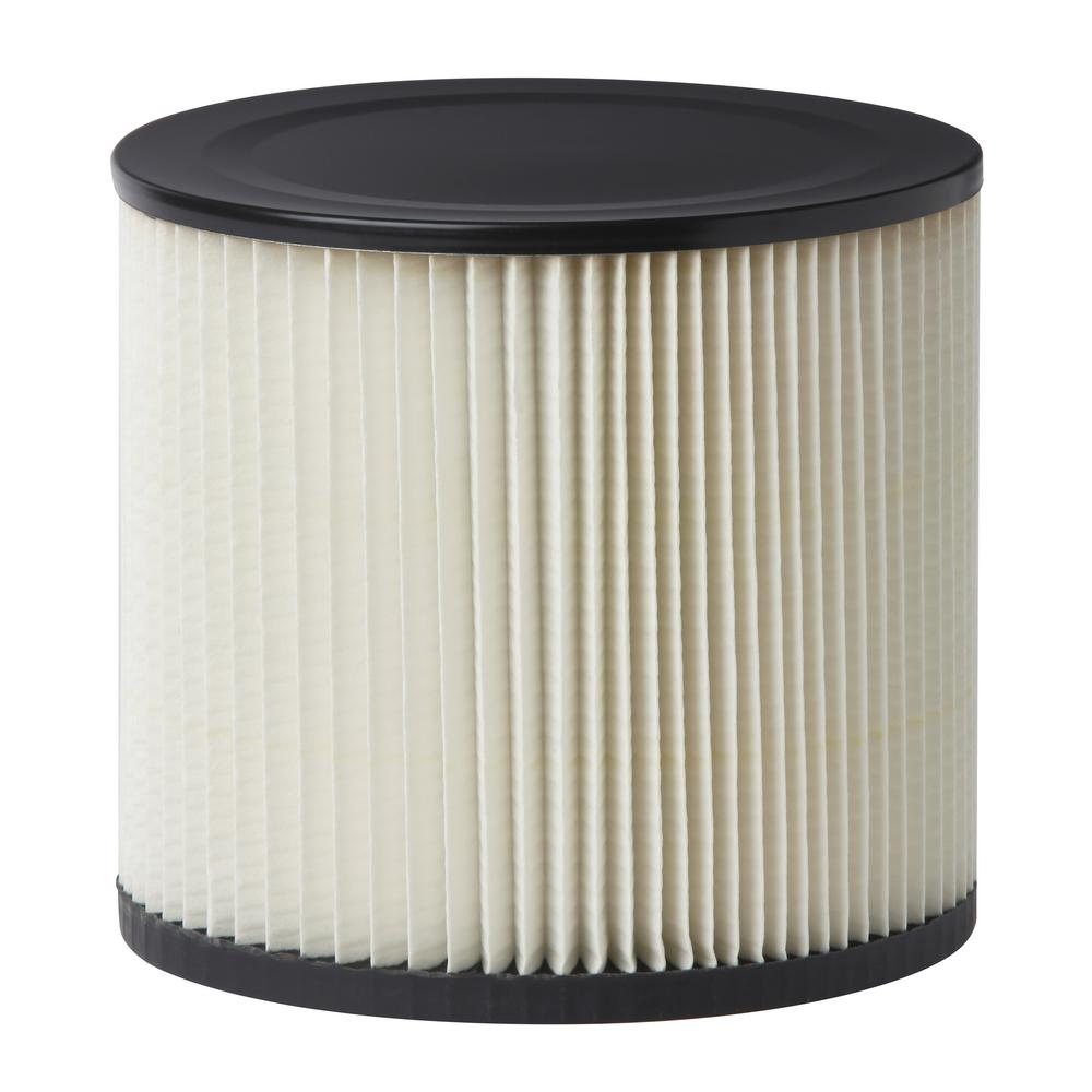 RIDGID 6.5 in. Cartridge Filter for Shop-Vac and Genie Wet/Dry Vacs