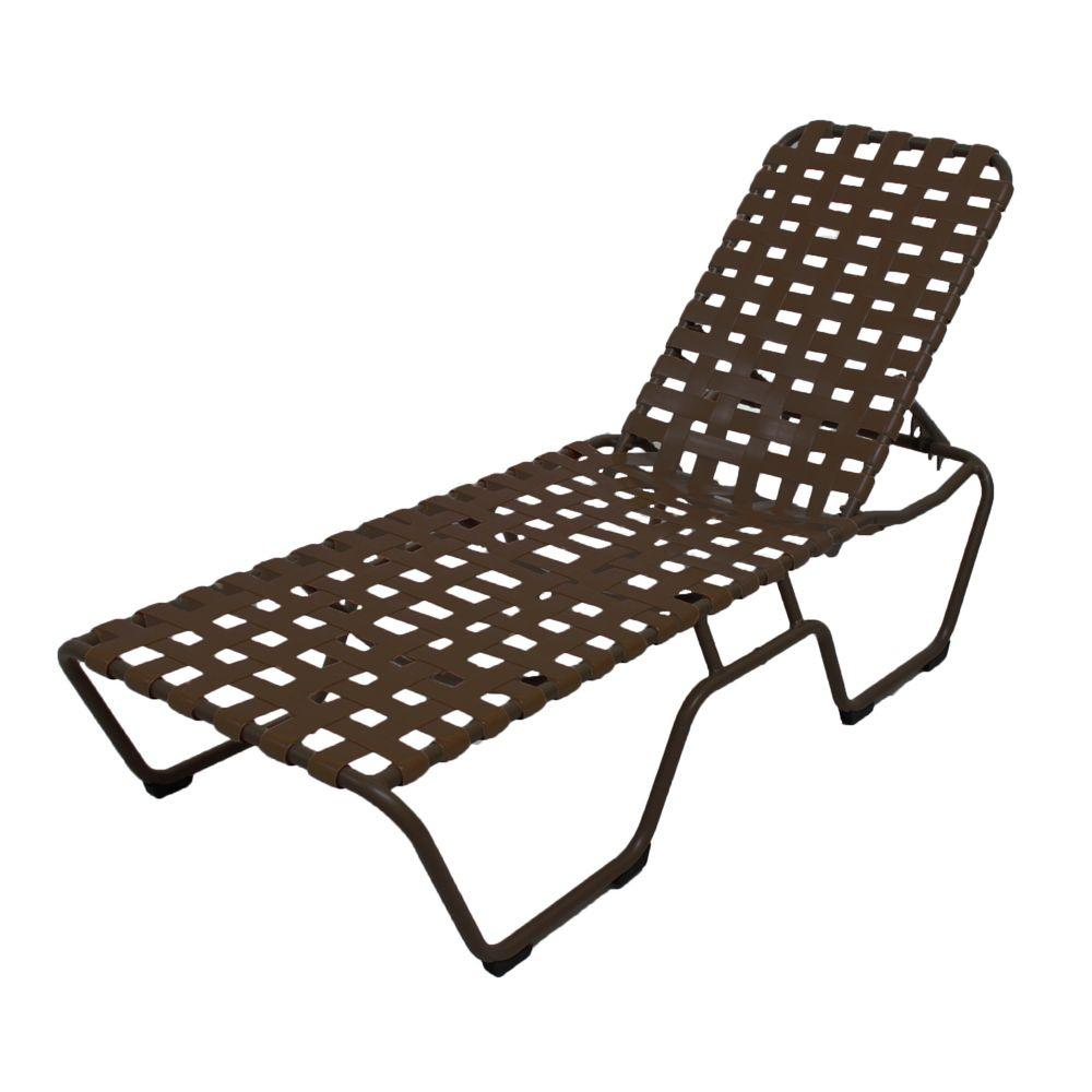 Marco island white commercial grade aluminum patio chaise for Alyssa outdoor chaise lounge