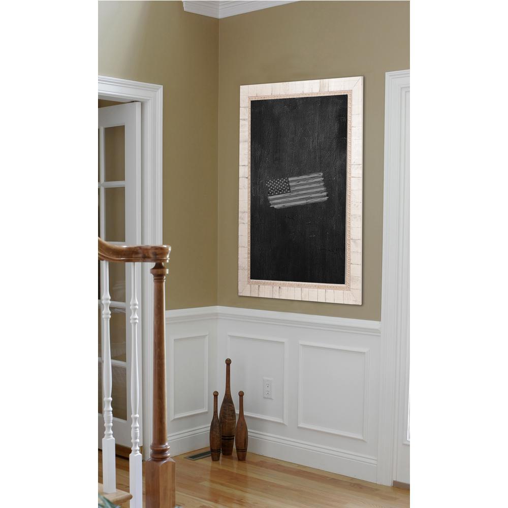 29 inch x 23 inch Tuscan Ivory Blackboard/Chalkboard by