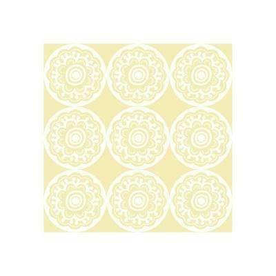 Roll Kid Yellow Wallpaper Home Decor The Home Depot