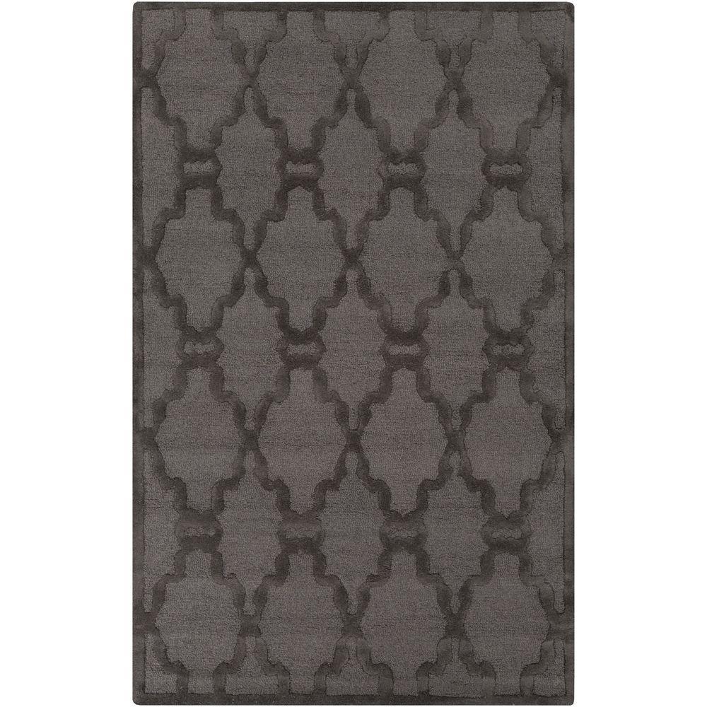 Umbra Charcoal (Grey) 5 ft. x 8 ft. Indoor Area Rug