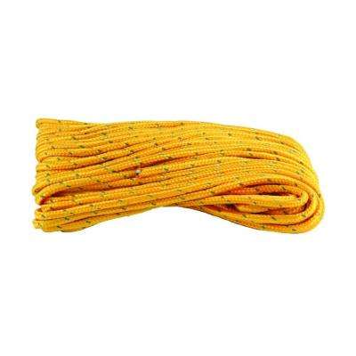 1/4 in. x 50 ft. Polypropylene Reflective Rope, Orange