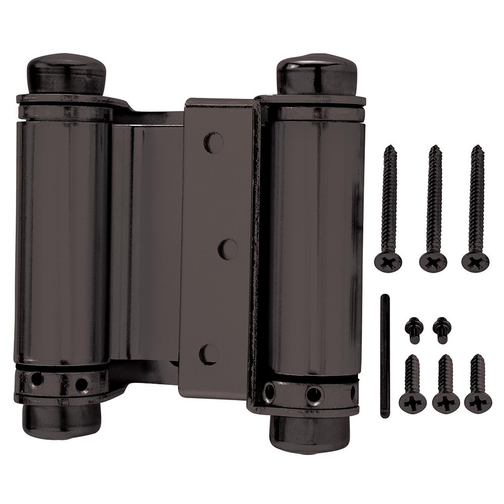 Oil Rubbed Bronze Double Action Spring Door