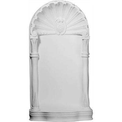 19-5/8 in. x 8 in. x 37-5/8 in. Primed Polyurethane Surface Mount Shell Niche