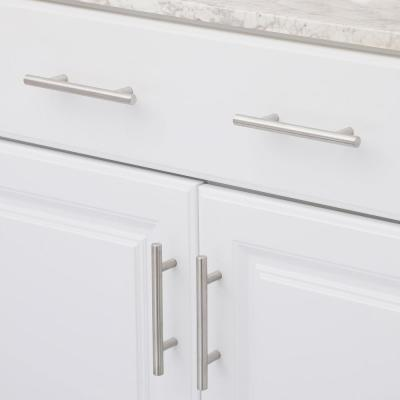 3-3/4 in. Center-to-Center Hollow Stainless Steel Cabinet Pull (Set of 25)