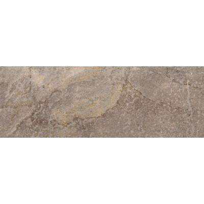 Bombay Modasa 3 in. x 13 in. Single Bullnose Porcelain Floor and Wall Tile