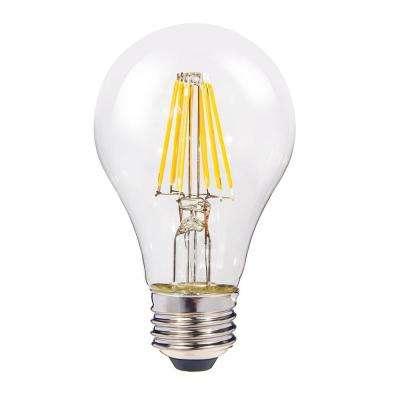 60w equivalent warm white a19 dimmable led light bulb 4pack