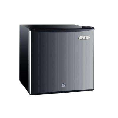 1.1 cu. ft. Upright Compact Freezer in Stainless