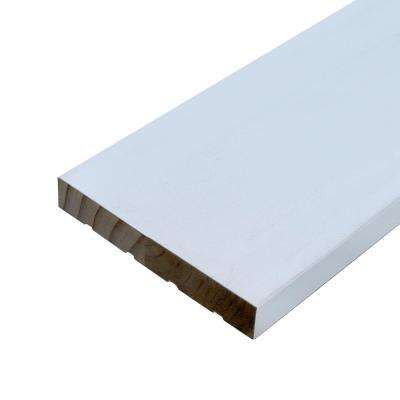 11/16 in. x 4-9/16 in. x 81-11/16 in. Primed Pine Interior Door Jamb Moulding
