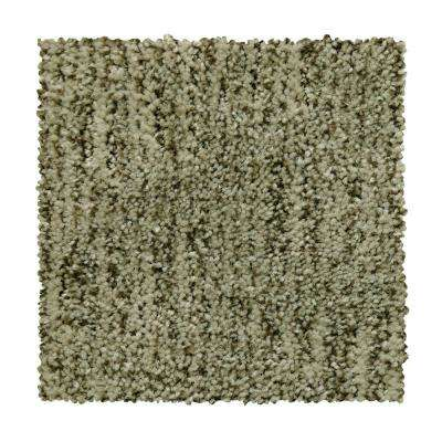8 in. x 8 in. Pattern Carpet Sample - Corry Sound - Color Artic Air