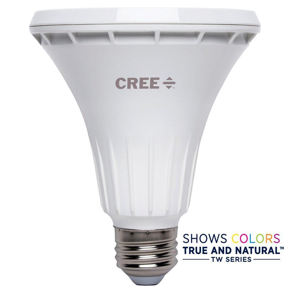 75W Equivalent Bright White PAR30 Long Neck 40 Degree Flood Dimmable LED Light Bulb