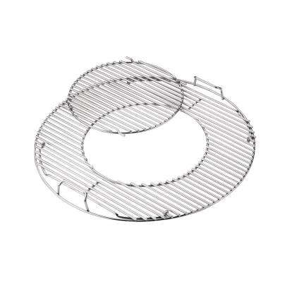 Hinged Replacement Cooking Grate with Removable Center for 22-1/2 in. Charcoal Grill