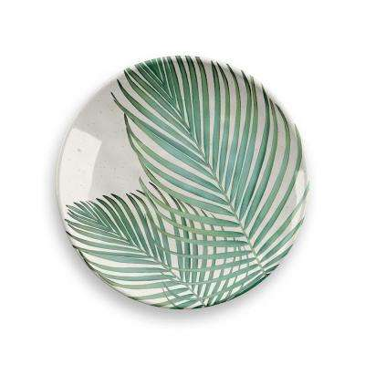 Amazon Floral Bamboo Fiber Assorted Salad Plates (Set of 4)