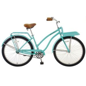 Hollandia Holiday F1 Cruiser Bicycle, 26 inch Wheels, 11 inch Frame, Women's Bike in Mint Green by Hollandia