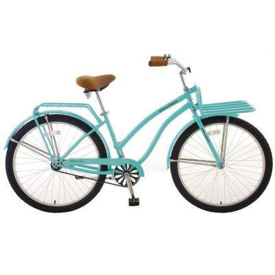 Holiday F1 Cruiser Bicycle, 26 in. Wheels, 11 in. Frame, Women's Bike in Mint Green