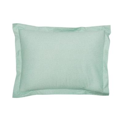 Marble Mint Geometric 200 Thread Count Cotton Percale King Sham