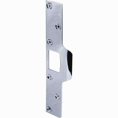 Maximum Security Chrome Deadlatch Strike Plate
