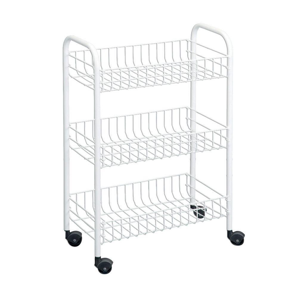 Wire World Siena 3-Tier Steel Cart