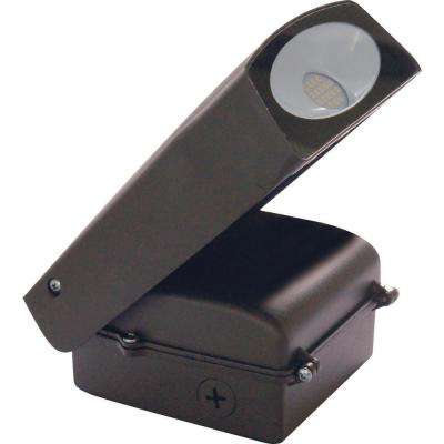 20-Watt Bronze Outdoor Integrated LED Area Light