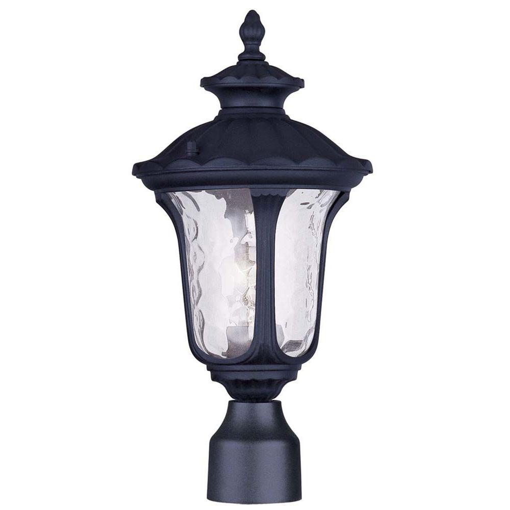 Oxford Black Post Head Lantern