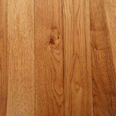 Take Home Sample - Hickory Autumn Wheat Solid Hardwood Flooring - 5 in. x 7 in.