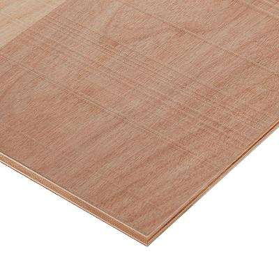 3/4 in. x 2 ft. x 4 ft. Rough Sawn Brich Plywood Project Panel