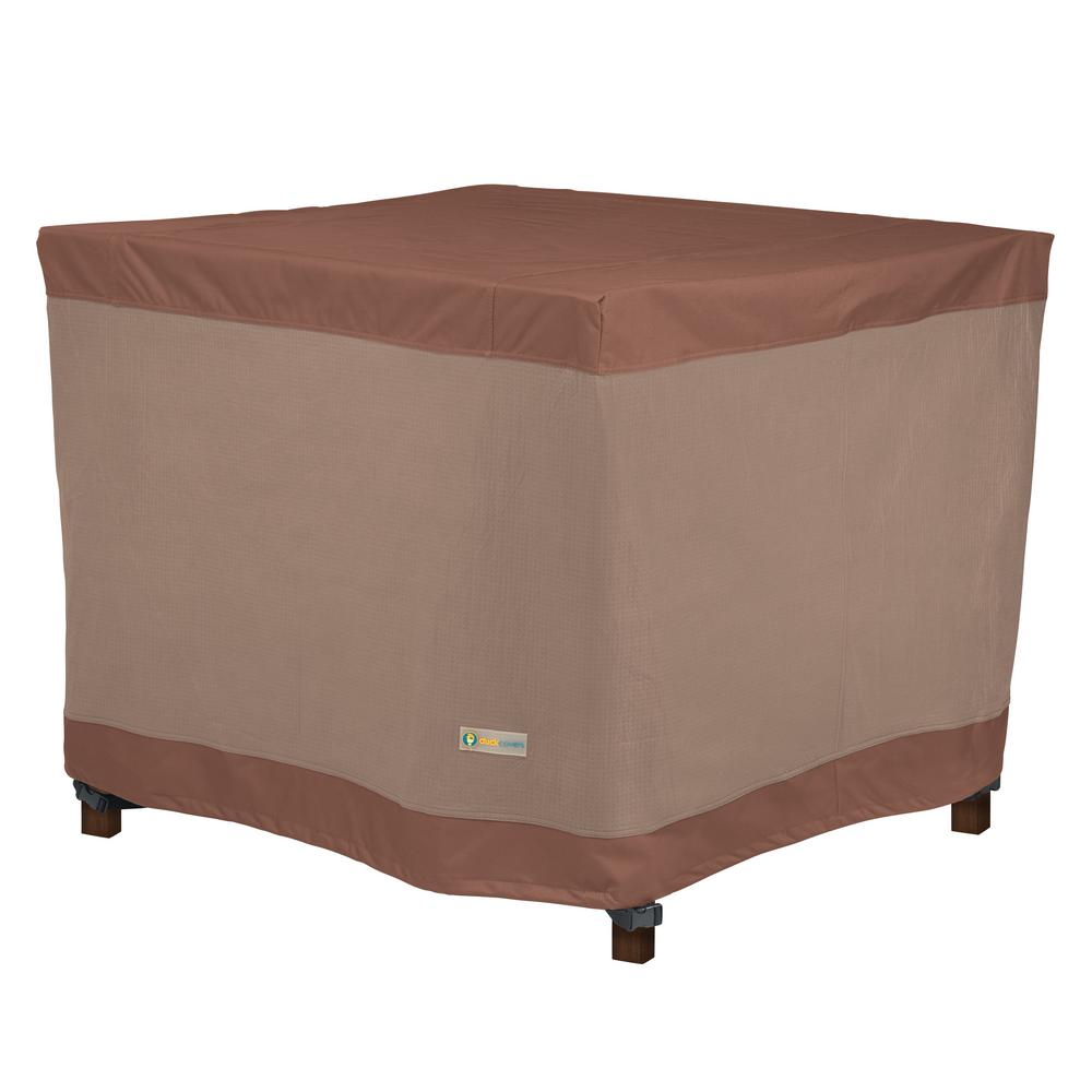 Duck Covers Ultimate 42 In L X W 32 H Square Table Cover